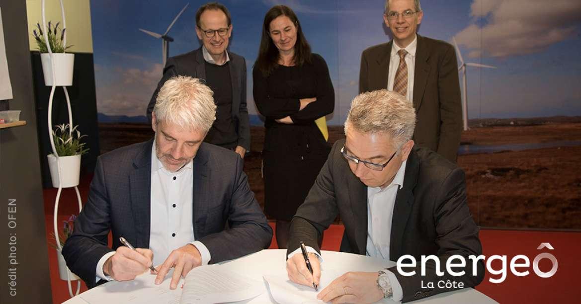 La Confédération soutient le projet EnergeÔ