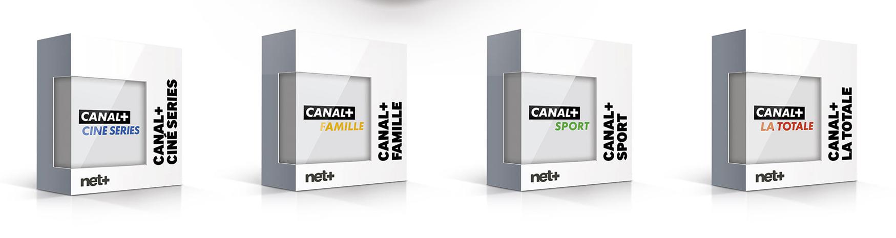 Les nouveaux bouquets Canal+