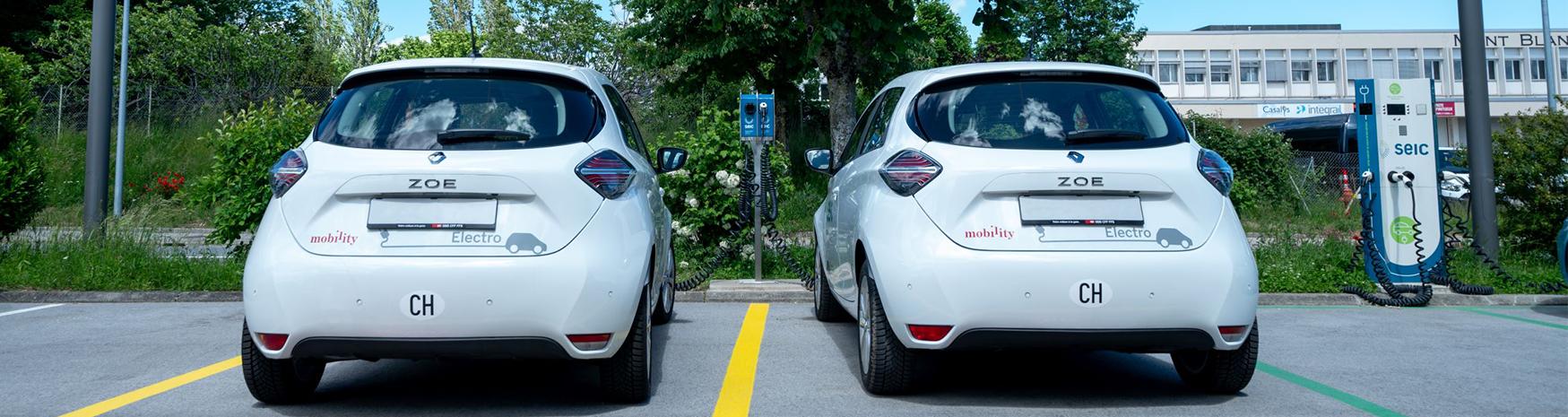 Car sharing électrique à Gland