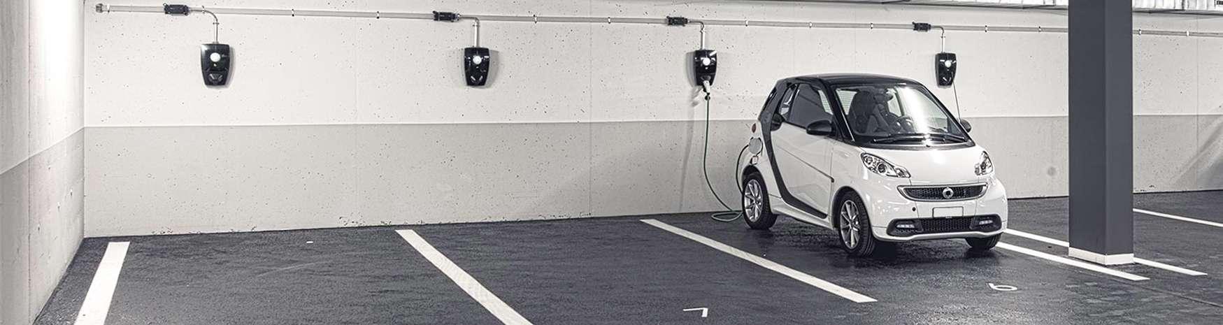 Bornes de recharge <br>Copropriétés et parkings